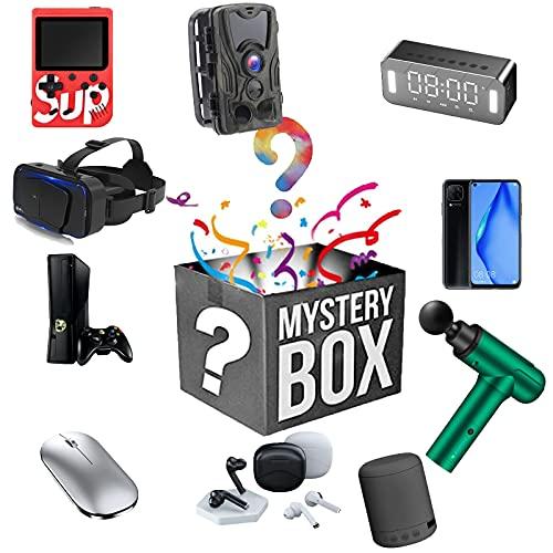 Mystery Box Productos electrónicos, Mysterious Random Products 2 Piezas, una Lucky Box para Regalo Sorpresa, Explore la economía desconocida