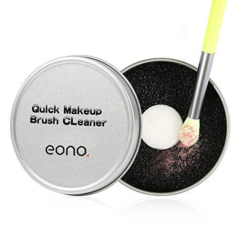 Eono by Amazon - Make-up Pinsel Reiniger, Pinselreiniger Reinigung Schnell Farbenwechsel Schwamm, Schnelle Reinigung von Makeup Pinsel Trockenreinigung Sponge Werkzeug
