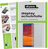 dipos I 2X Schutzfolie matt kompatibel mit Lenovo K5 Play Folie Bildschirmschutzfolie