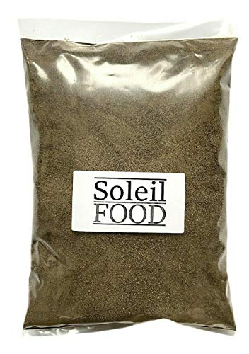 1 kg Pfeffer schwarz gemahlen feinste Qualität Gewürz GMO frei Soleilfood