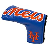 Team Golf MLB New York Mets Golf Club Vintage Blade Putter Headcover, Form Fitting Design, Fits Scotty Cameron, Taylormade, Odyssey, Titleist, Ping, Callaway