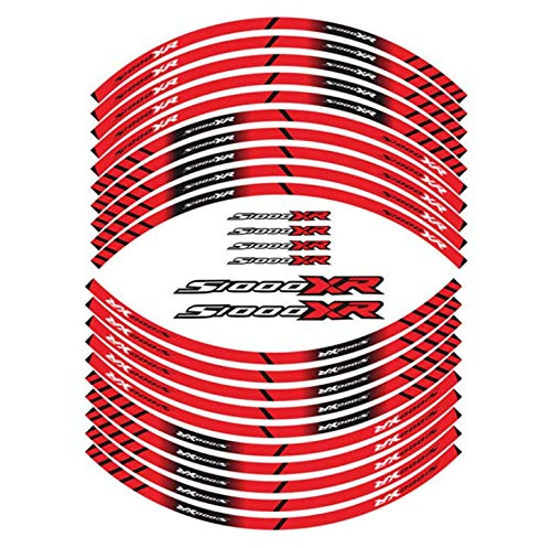 Motorrad Reifen Zeichen Dekoration Aufkleber Innenfelge reflektierende Aufkleber Für S1000XR