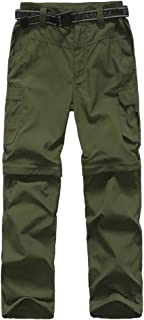 Boy's Quick Dry Outdoor Convertible Trail Pants