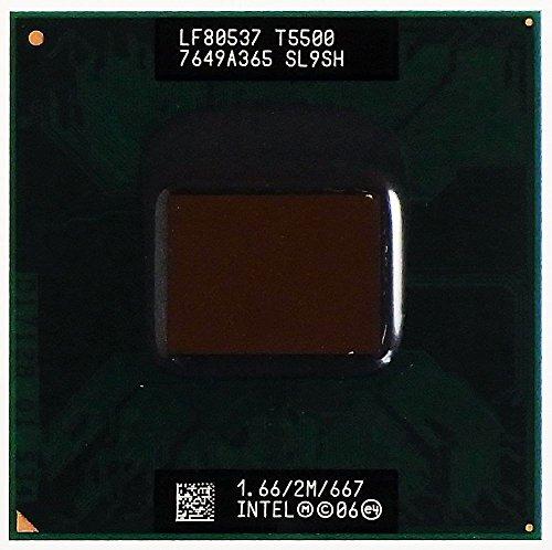 CPU / Prozessor Core 2 Duo Mobile 1,66GHz T5500 SL9SH LF80537 7649A365 ID13411