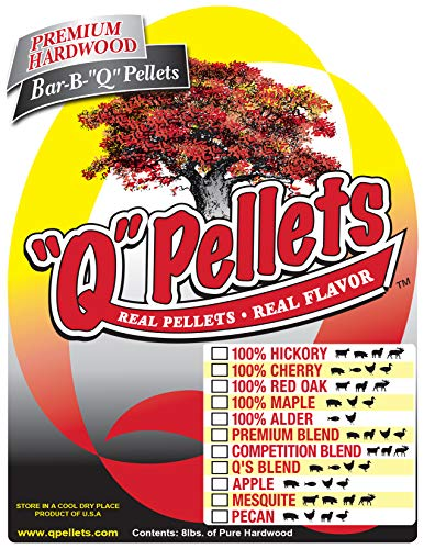 """Q"" Pellets BBQ Smoker Pellets - 100% Red Oak - 7 lb. Trial Size"