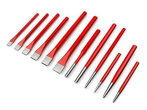 Best Choice 12-Piece Heavy Duty Punch and Cold Chisel Set with...