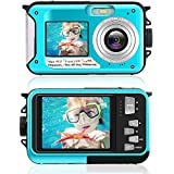 デジカメ 防水 デジカメ 防水カメラ デジカメ 水中カメラ デジタルカメラ スポーツカメラ 1080P 24.0MP デュアルスクリーン日本語説明書付き