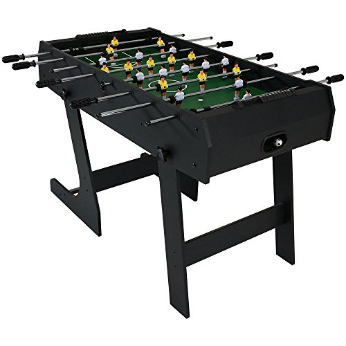mesa 2 en 1 billar y futbolito fabricante Sunnydaze Decor