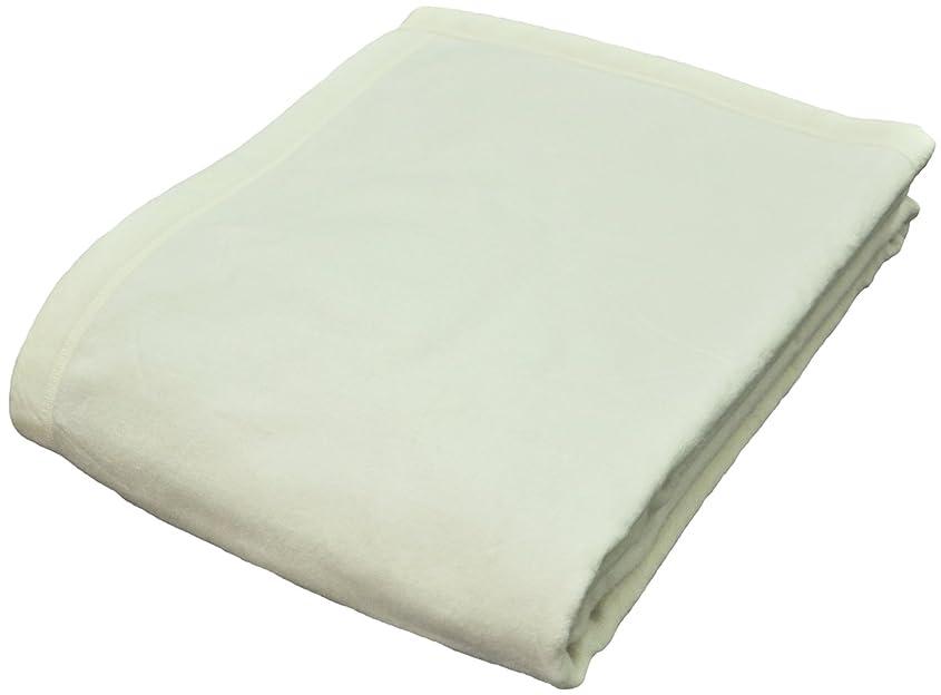 体細胞裁判官ペインボーマ(BOMA) シルク毛布(毛羽部分)肌に優しく保湿性抜群 シングル アイボリー 1.3kgタイプ