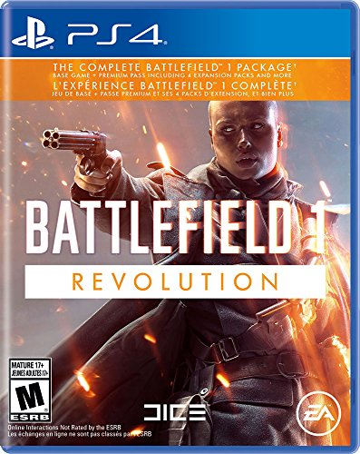 PS4 BATTLEFIELD 1 REVOLUTION EDITION (US)