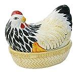 Mason Cash Mother High Quality Chip Resistant Hen Nest Egg Storage, Ceramic, Multi-Colour, 21 x 16.5 x 18 cm