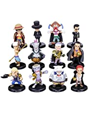 anime One Piece 12 Figures