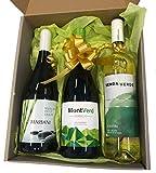 Caja de 3 botellas de Massani Dry Muscat, Montverd Verdejo y Senda Verde Albariño
