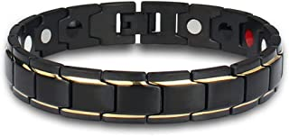 Stylish Magnetic Therapy Bracelet for Men and Women Health Improvement | Reliefs Arthritis, Carpal Tunnel, Migraine, Heada...