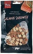 Pets Unlimited Salmon Sandwich Cat Treats, Premium Meaty Salmon Cat Treat with No artificial Colours...