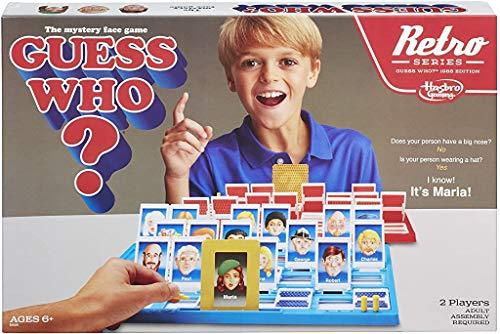 Hasbro Indovina Chi? Game Retro Series 1988Edition