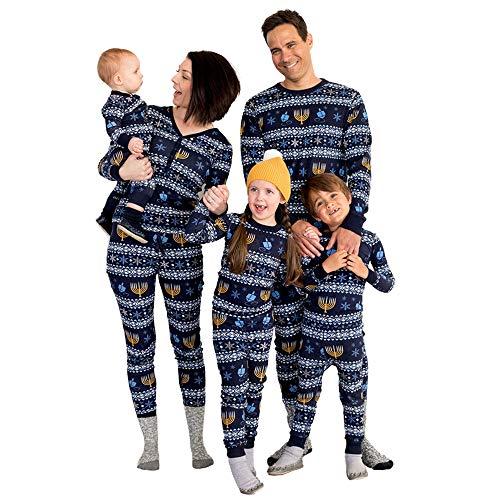 LZJDS Familien-Weihnachtspyjama-Sets Junge Herren Damen Weihnachten Familie...
