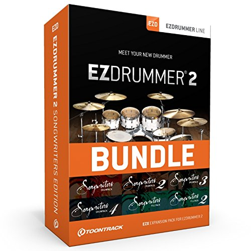 TOONTRACK EZ Drummer 2 Bundle Songwriter (inkl. 6 Drum MIDI-Packs) Downloadversion