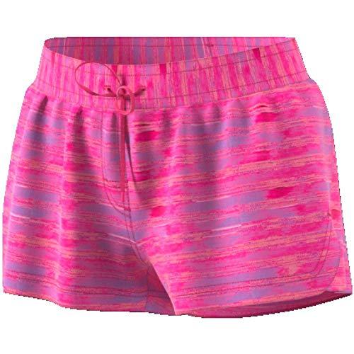 adidas Damen Allover Print Beach Shorts Badeshorts, Shopin, 32