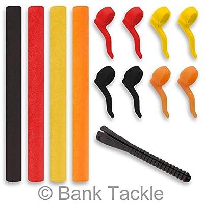 Bank Tackle Zig Rig Kit inc Aligners and Pop Foam Carp Fishing Terminal Tackle Kickers