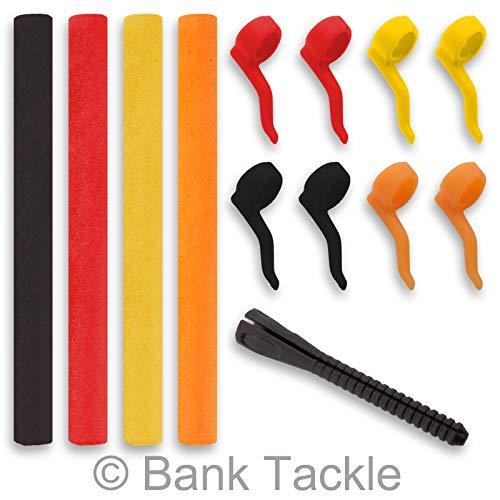 Bank Tackle Zig Rig Kit inc Aligners and Pop Foam Carp Fishing Terminal Tackle Kickers