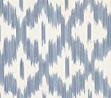 Advantage 2813-527728 Keller Blue Ogee Wallpaper