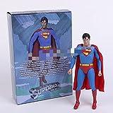 aolongwl Figura Juguete Bruce Wayne Clark Kent Joker PVC Figura de acción de PVC Juguete Coleccionab...