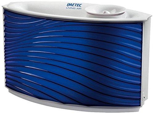 Imetec Living Air HU-300 - Humidificador (240V, 60 Hz, 300W, Azul, Color blanco)