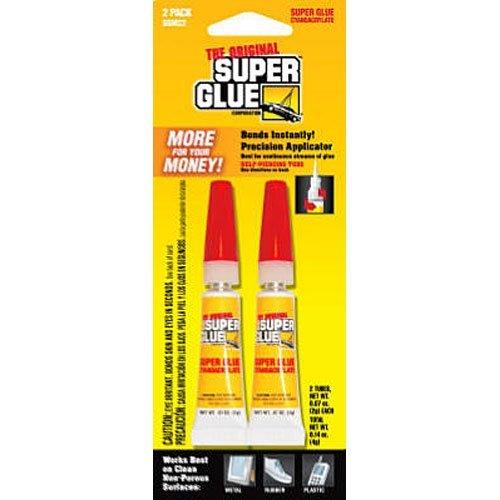 Pacer Tech SGM22-12 Original Super Glue Bonds Metal, Aluminum, Rubber, Most Plastics, Ceramics, China, Wood, Pottery, Jewelry (2 Pack)