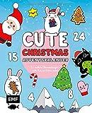 Mein Kawaii-Adventskalender-Buch: Cute Christmas: 24 niedliche Überraschungen – Süsse Kawaii-Motive malen und zeichnen – Mit perforierten Seiten zum Auftrennen