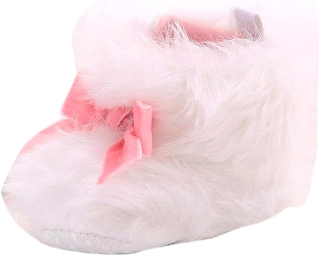Amiley Baby Boots, Baby Toddler Infant Girl Snow Boots Cute Soft Sole Prewalker Crib Shoes