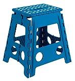 Arregui TB-039-A Taburete Plegable Multiuso, 39 cm de altura, azul, 39 x 29 x 22 cm