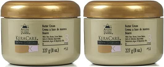 Avlon Keracare Natural Texture Butter Cream, Set of Two (8 Oz Each)