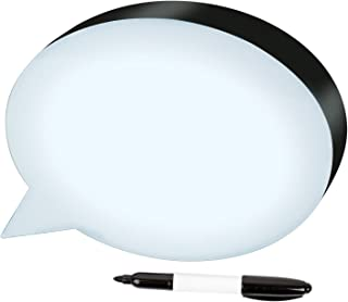 Westminster Speech Bubble, Illuminated Dry Erase Board With Marker