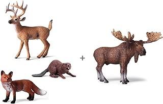 Best woodland animals moose Reviews