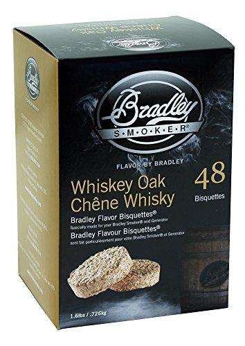 Bradley Smoker BTWOSE48 Whiskey Eiche Bisquetten 48 Pack