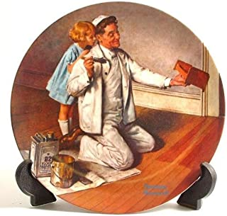 The Painter (Norman Rockwell Collector's Plate) by Bradford Exchange