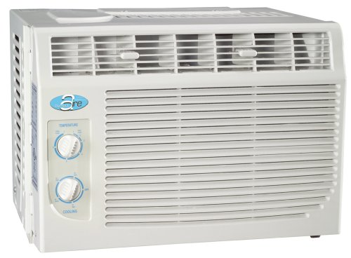 PerfectAire PAC5000 5000BTU Window Air-Condidioner, for Room Size 10 x 15, 150 SqFt