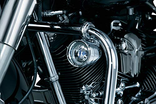 Kuryakyn 5019 Motorcycle Lighting Accessory: Engine Guard Mounted Driving Lights, Universal Fit for 1-1/4