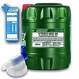 FANFARO 20L Hydro ISO 46 / Hydrauliköl Mineralöl Schmieröl FF2102-20 + Auslaufhahn