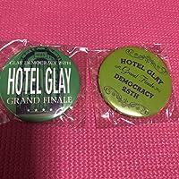 缶バッジ GLAY HOTEL GLAY 2点