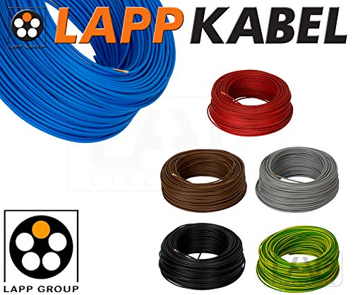 Lapp 4520015 PVC Einzelader H07V-K 10 mm² schwarz 5 Meter
