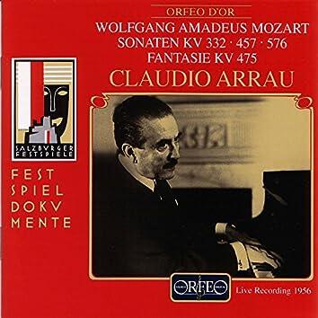Mozart: Piano Sonatas Nos. 12, 14 & 18 and Fantasia in C Minor (Live)