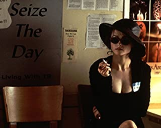 Fight Club Helena Bonham Carter busty smoking cigarette 16x20 Canvas Giclee