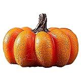HMBB 2 Paquetes Halloween Jack-O'-Lantern Decorativo Calabaza Decoraciones de Halloween Precios (Color : Short)