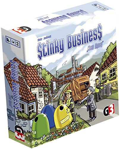 G3 Publishing 105747 - Stinky Business, Brettspiel - Deutsch/Englisch/Polnisch