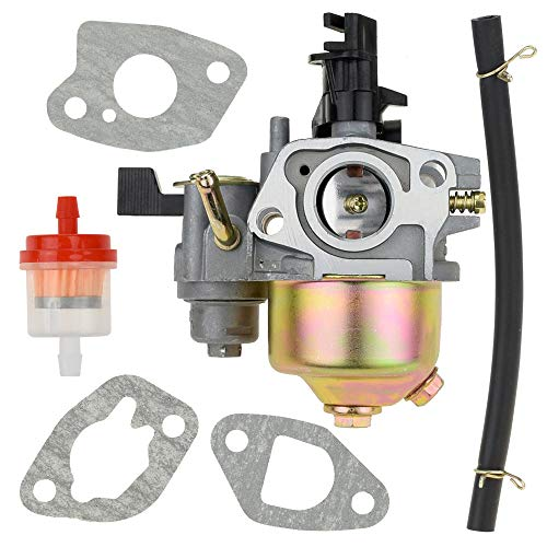 Carb Carburetor with Gaskets Fuel Line Filter for Coleman Powersports CT200U Trail 200 Mini bike Twister Hammerhead 80T Go Cart 5.5hp 6.5hp Generator Parts