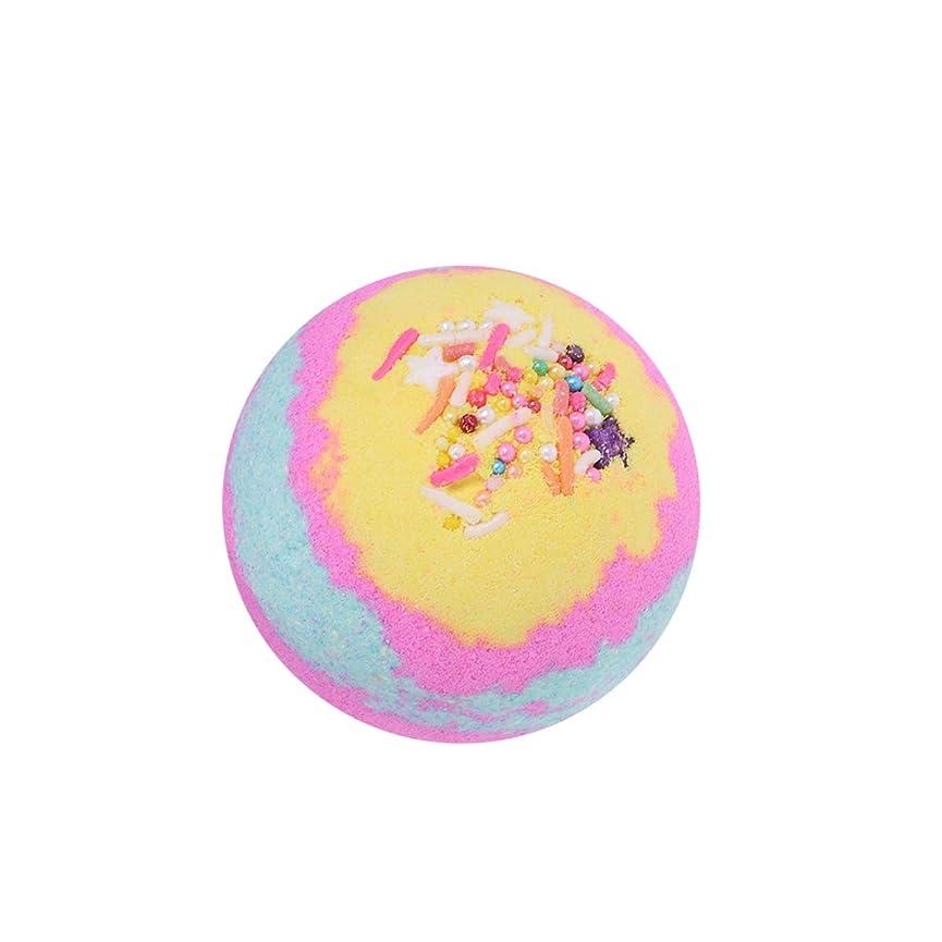 ビルオレンジシリアルLurrose 1ピース100グラム入浴剤ボールフレグランスは女性のためのエッセンシャルオイルバス爆弾を保湿(ストロベリーマルチカラー)
