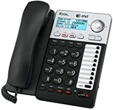 AT&T ML17929 2-Line Corded Telephone, Black (Renewed) photo