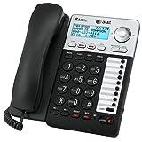 Best Corded Speakerphones - AT&T ML17929 2-Line Corded Telephone, Black (Renewed) Review